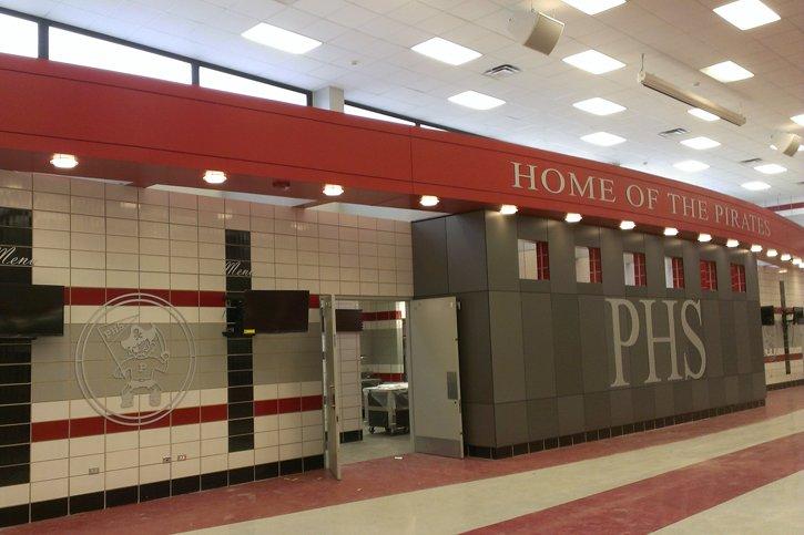 Palatine High School Kitchen